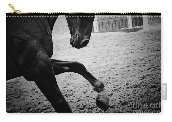 Black Stallion - Poster Carry-all Pouch