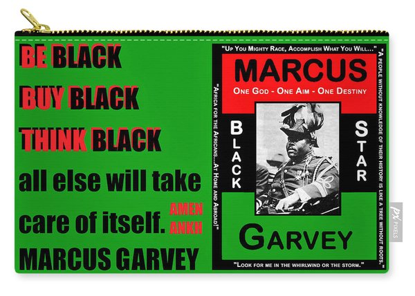 Black Star Garvey Carry-all Pouch