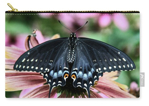 Black Swallowtail 3 Carry-all Pouch