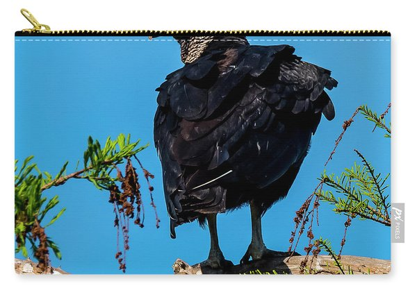 Black Vulture Carry-all Pouch