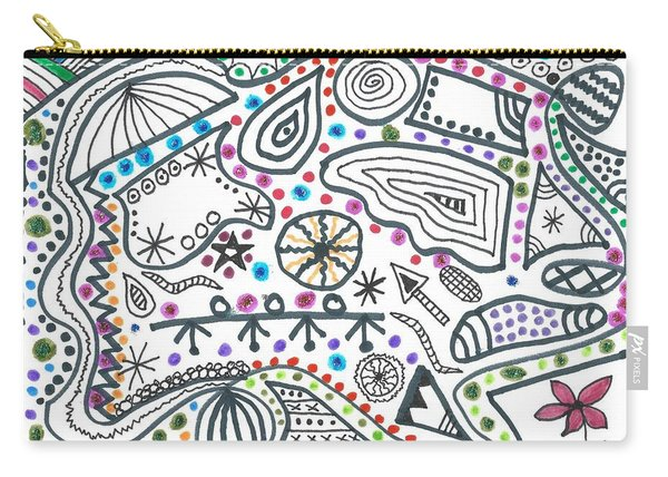 Black White And More Carry-all Pouch