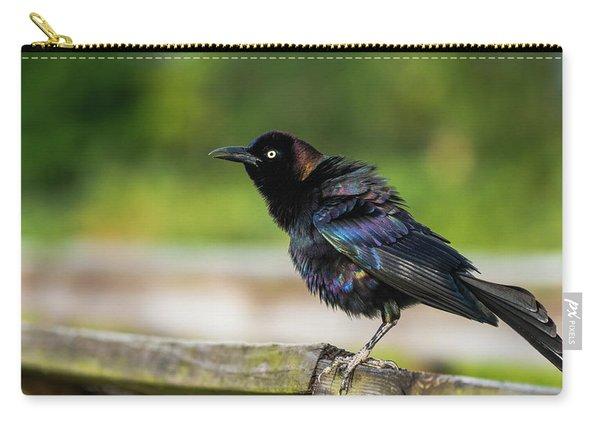 Blackbird Rainbow Green Cay Wetlands Boynton Beach Florida Carry-all Pouch