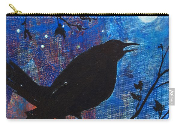 Blackbird Singing Carry-all Pouch