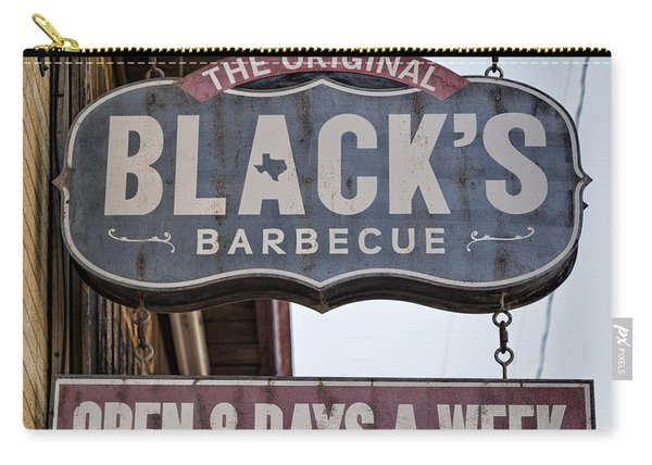 Blacks Barbecue #1 Carry-all Pouch