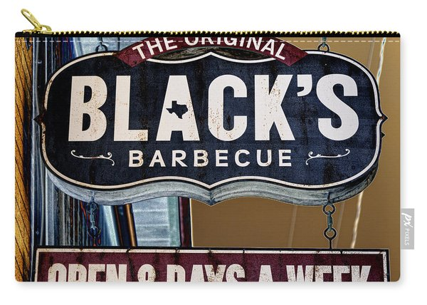Blacks Barbecue #2 Carry-all Pouch