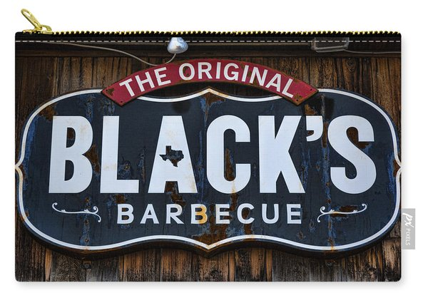 Blacks Barbecue Sign #2 Carry-all Pouch