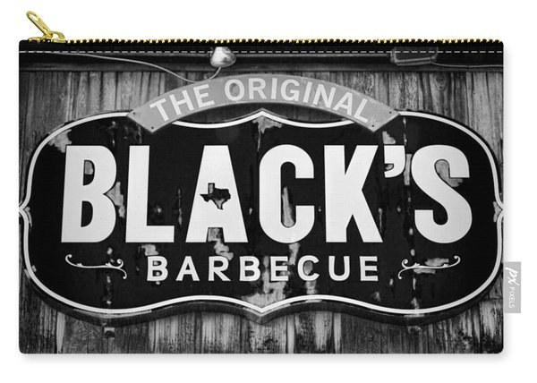 Blacks Barbecue Sign #3 Carry-all Pouch