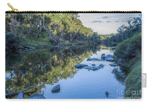 Blackwood River Rocks, Bridgetown, Western Australia Carry-all Pouch