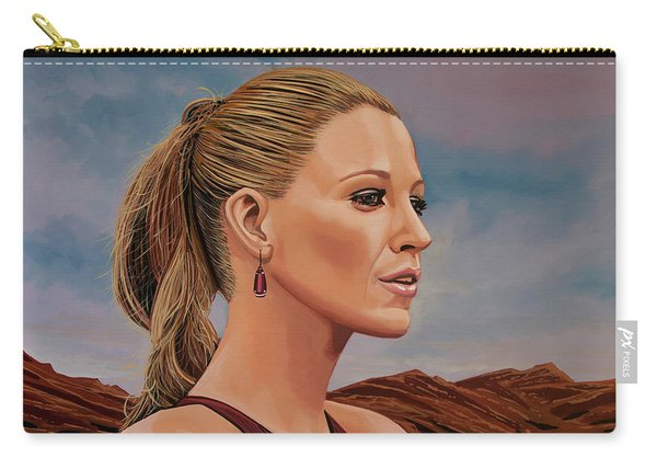 Blake Lively Painting Carry-all Pouch