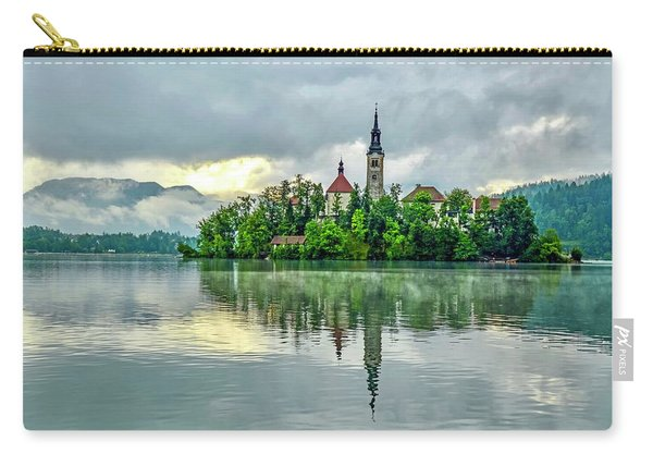 Bled At Sunrise Carry-all Pouch