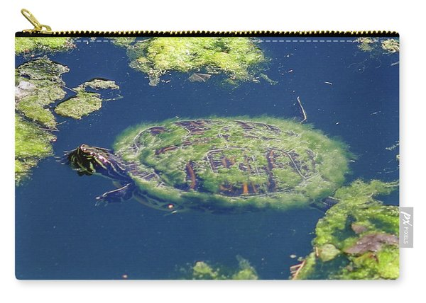 Blending In Turtle Carry-all Pouch