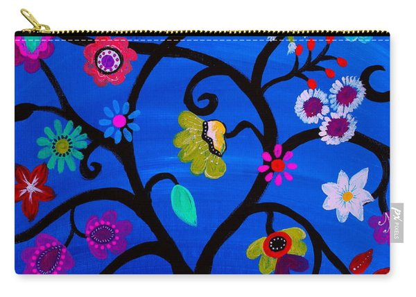 Blessed Tree Of Life Carry-all Pouch