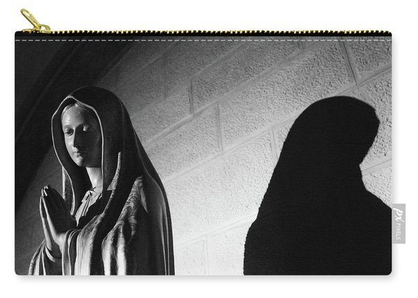 Carry-all Pouch featuring the photograph Blessed Virgin Of Fiesole Italy by Matthew Wolf