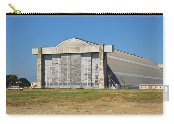 Blimp Hanger From Closed El Toro Marine Corps Air Station Carry-all Pouch
