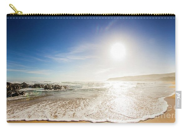 Blissful Ocean Panorama Carry-all Pouch