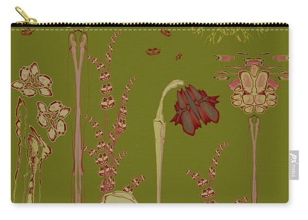 Blob Flower Garden Carry-all Pouch