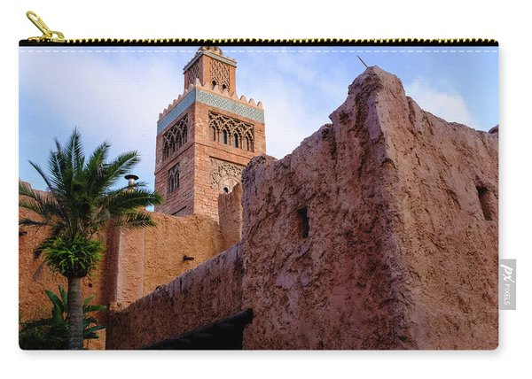 Blocks And High Tower Architecture From Orlando Florida Carry-all Pouch