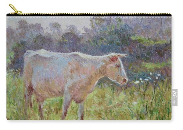 Blonde D'aquitaine Carry-all Pouch