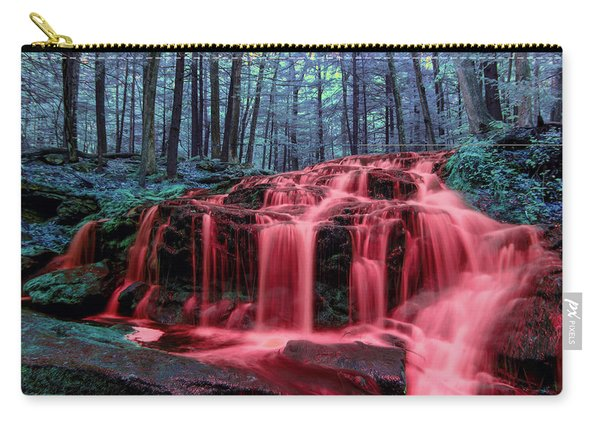 Carry-all Pouch featuring the photograph Blood Falls 1 by Brian Hale