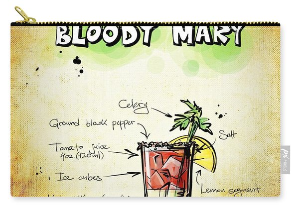 Bloody Mary Carry-all Pouch