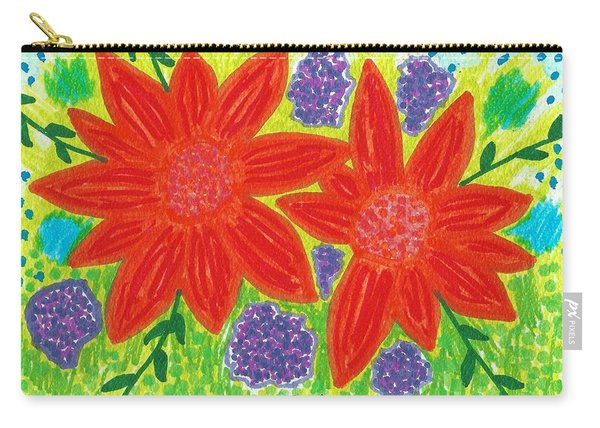 Bloomin' Blossoms Carry-all Pouch