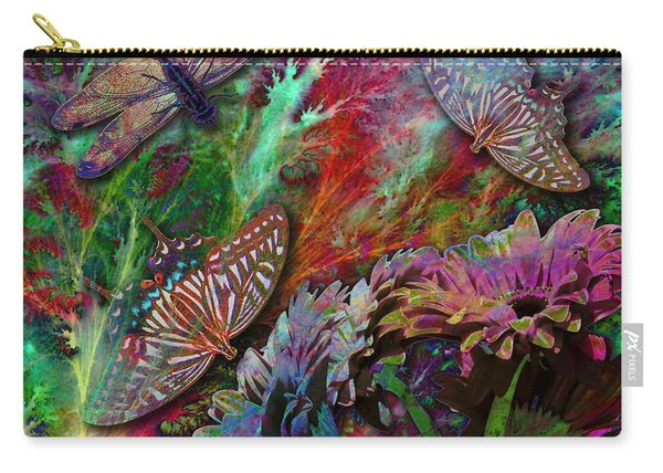 Blooming Color Carry-all Pouch