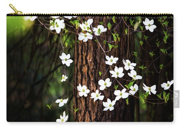 Blooming Dogwoods In Yosemite Carry-all Pouch