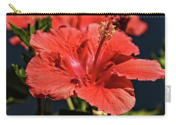 Blooming Hibiscus  Carry-all Pouch