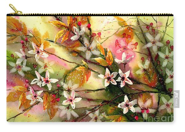 Blooming Magical Gardens II Carry-all Pouch