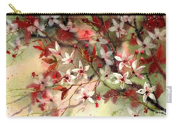 Blooming Magical Gardens IIi Carry-all Pouch