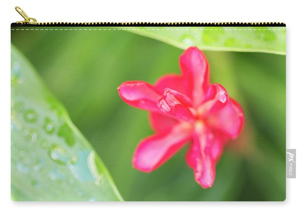Blooming Red Ginger Carry-all Pouch