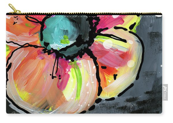 Blooming Wildflower- Art By Linda Woods Carry-all Pouch