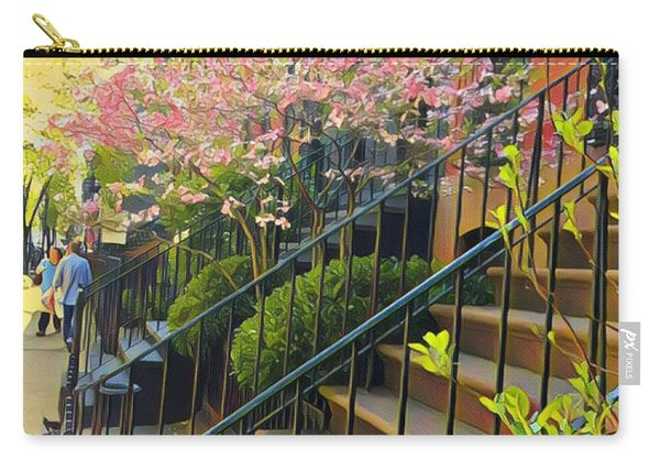Blooms Of New York Carry-all Pouch
