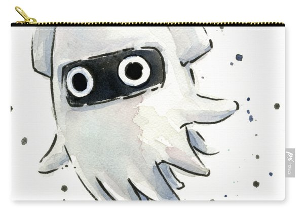 Blooper Watercolor Carry-all Pouch