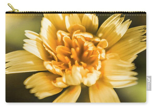 Blossoming Dandelion Flower Carry-all Pouch