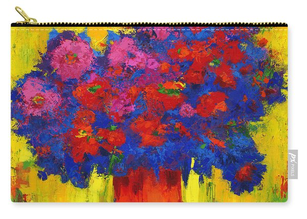 Blossoming Joy Carry-all Pouch