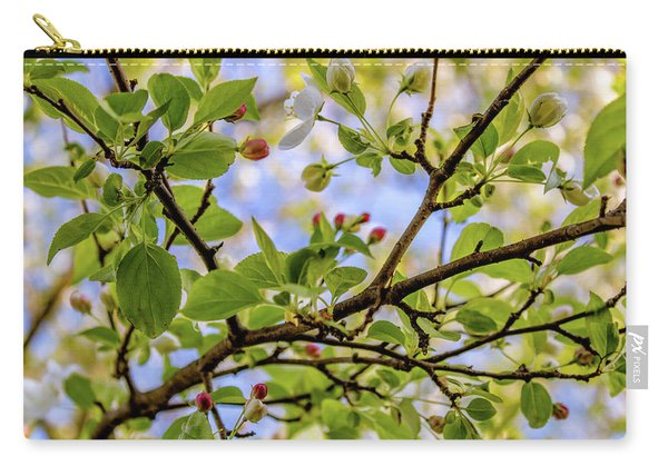 Blossoms And Leaves Carry-all Pouch