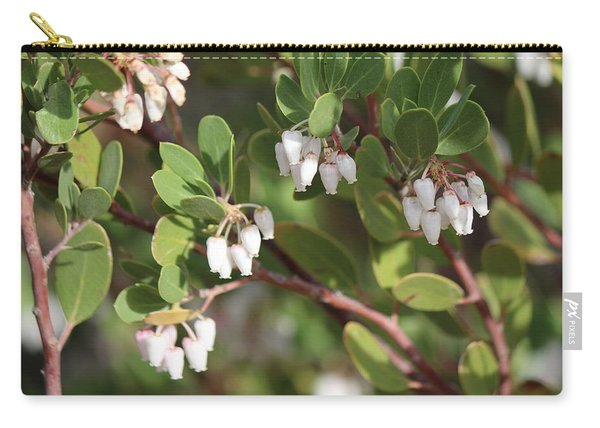 Carry-all Pouch featuring the photograph Blossoms  by Christy Pooschke