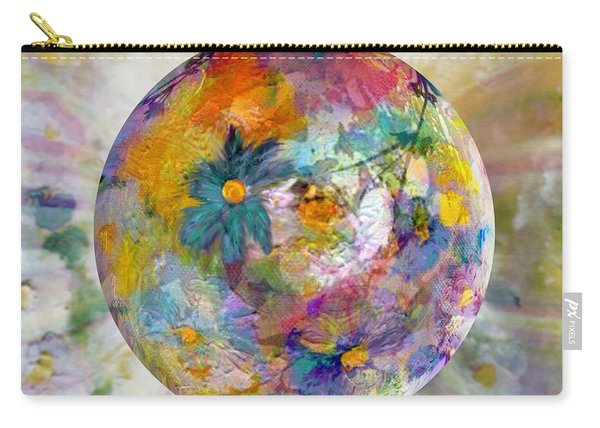 Blossoms In Pastel Carry-all Pouch