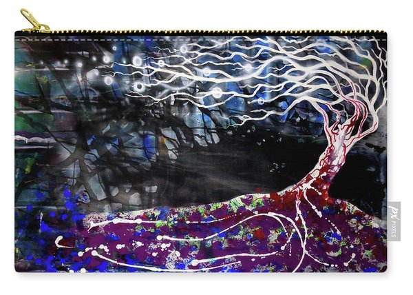 Blowing Tree Carry-all Pouch