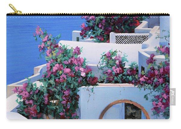 Blu Di Grecia Carry-all Pouch