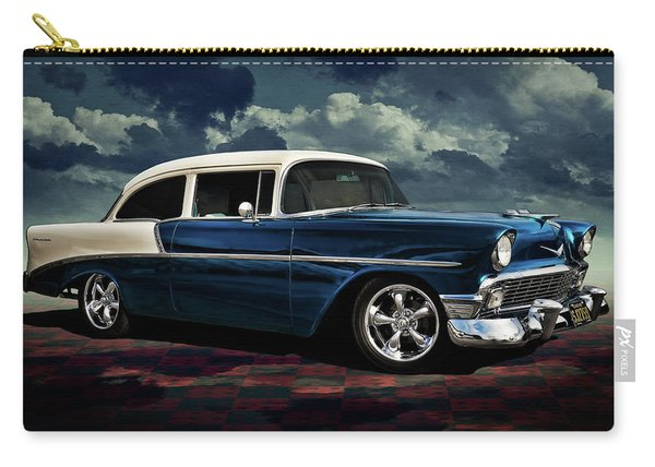 Blue '56 Carry-all Pouch