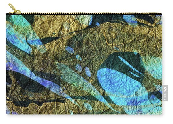 Blue Abstract Art - Deeper Visions 2 - Sharon Cummings Carry-all Pouch