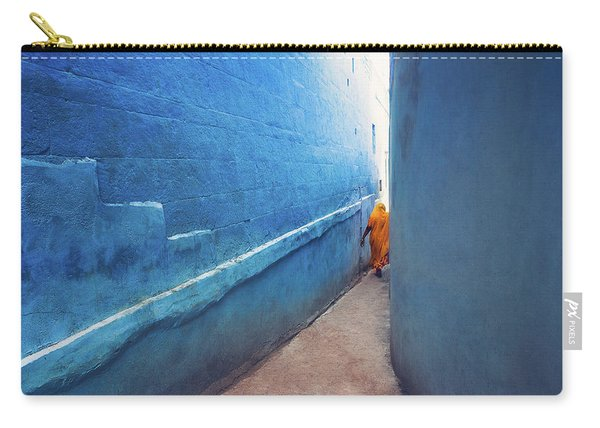 Blue Alleyway Carry-all Pouch