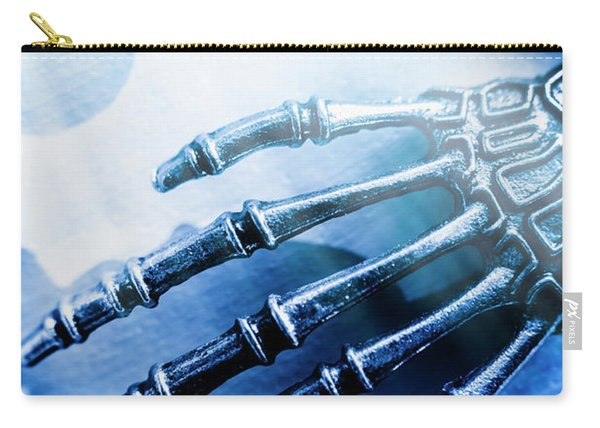 Blue Android Hand Carry-all Pouch
