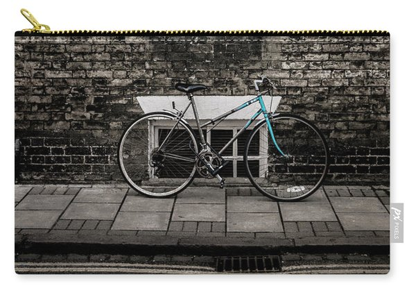 Blue Bicycle, Cambridge, England Carry-all Pouch