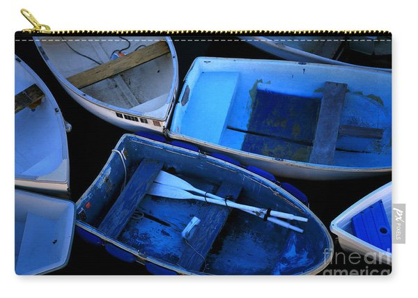 Blue Boats Carry-all Pouch