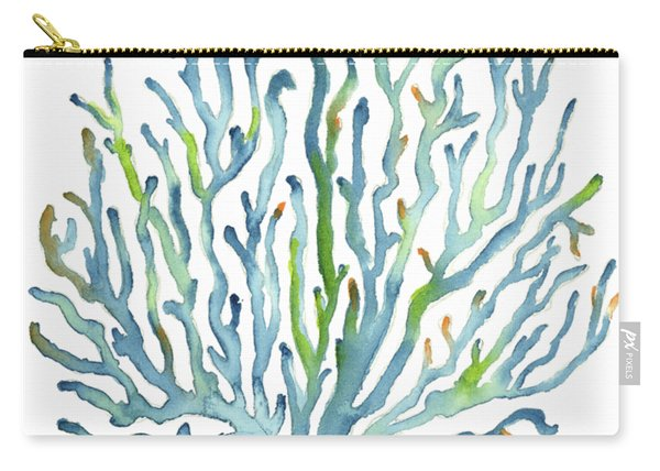 Blue Coral Carry-all Pouch