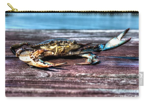 Blue Crab - Big Claws Carry-all Pouch