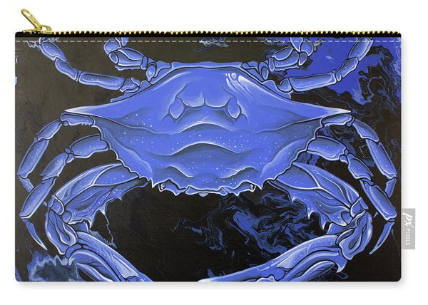 Blue Crab Carry-all Pouch